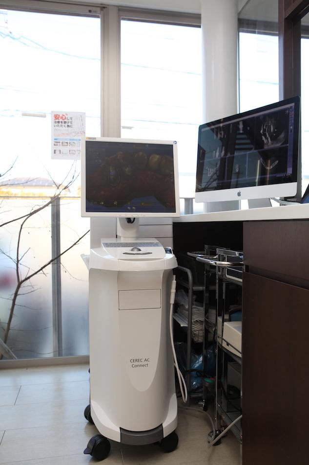最新CAD/CAMシステム セレックACオムニカムを導入しました。