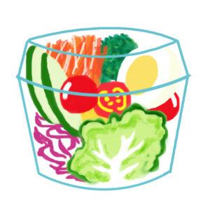 コンビニ食で栄養バランスを整える方法のイメージ